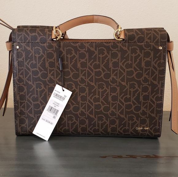 arrives details for best wholesaler Calvin Klein handbag NWT